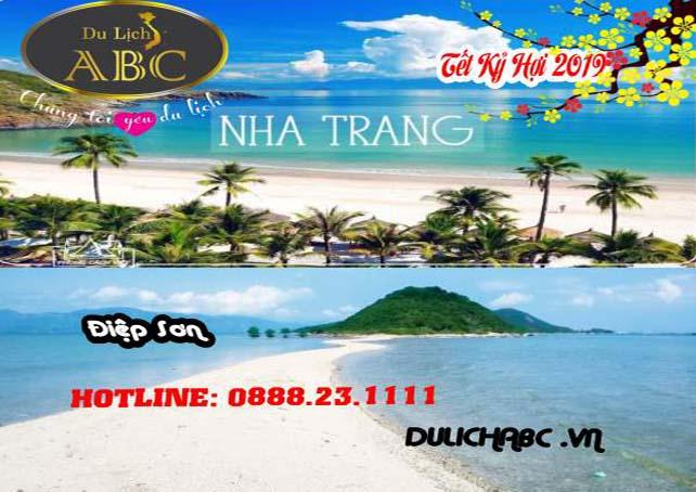 Du lịch Nha Trang - Đảo Điệp Sơn Tết Nguyên Đán 2019