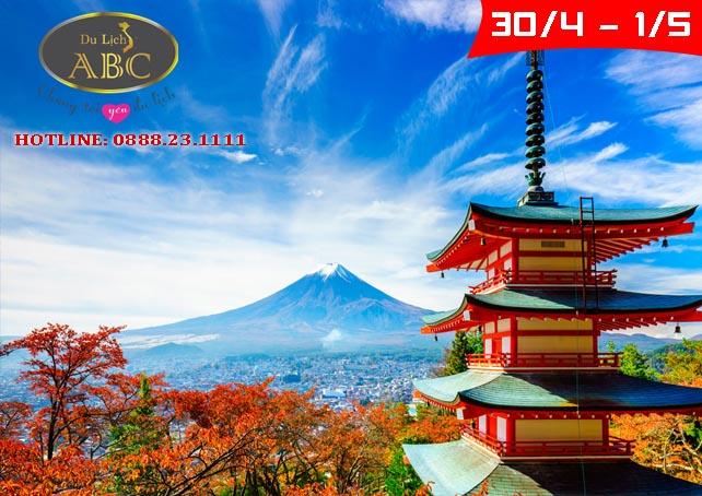 Du lịch Nhật Bản lễ 30/4 và 1/5/2021