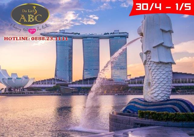 Du lịch Singapore lễ 30/4 và 1/5/2021