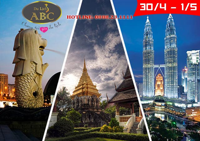 Du lịch Singapore - Malaysia - Indonesia lễ 30/4 và 1/5/2021