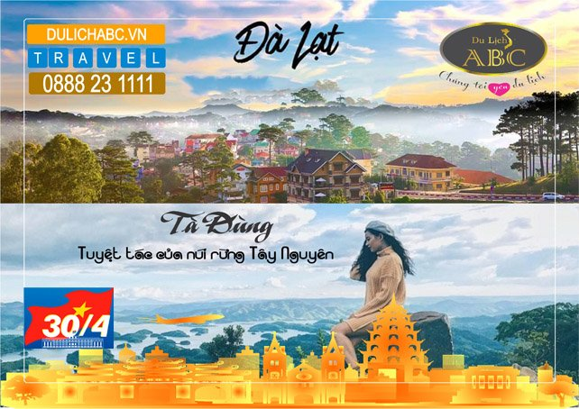 Tour Du lịch Tà Đùng - Đà Lạt Lễ 30/4 - 1/5/2021