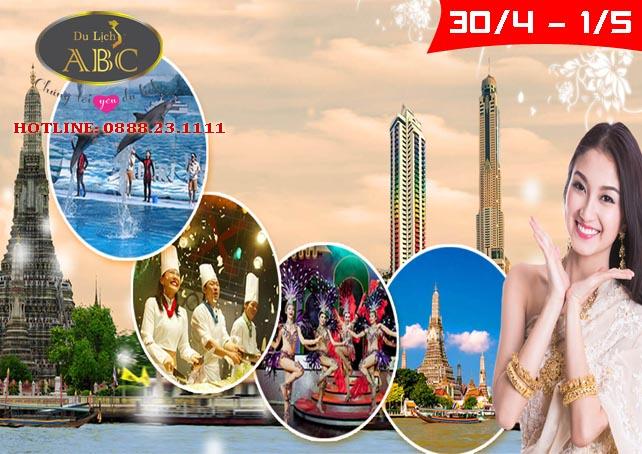 Du lịch Thái Lan lễ 30/4 và 1/5/2020