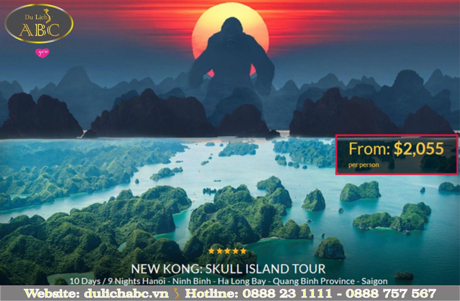 Tour Du Lịch Ăn Theo Film Kong: Skull Island