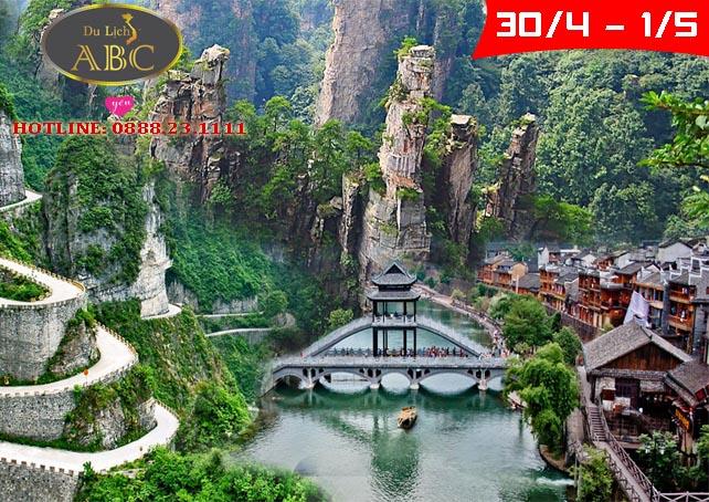 Du lịch Trương Gia Giới - Phượng Hoàng Cổ Trấn 30/4/2021