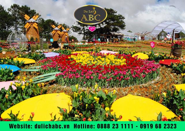 Festival hoa Đà Lạt và lễ hội văn hóa trà Bảo Lộc gộp thành một
