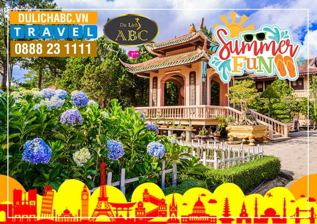 Tour Du lịch Đà lạt 3 Ngày 3 Đêm Hè 2018