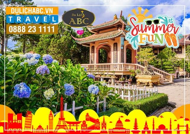 Tour Du lịch Đà lạt 3 Ngày 3 Đêm Hè 2020