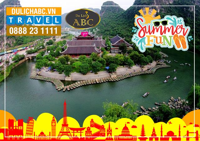 Tour Du lịch Hà Nội - Ninh Bình - Bái Đính - Hạ Long - Yên Tử Hè 2021