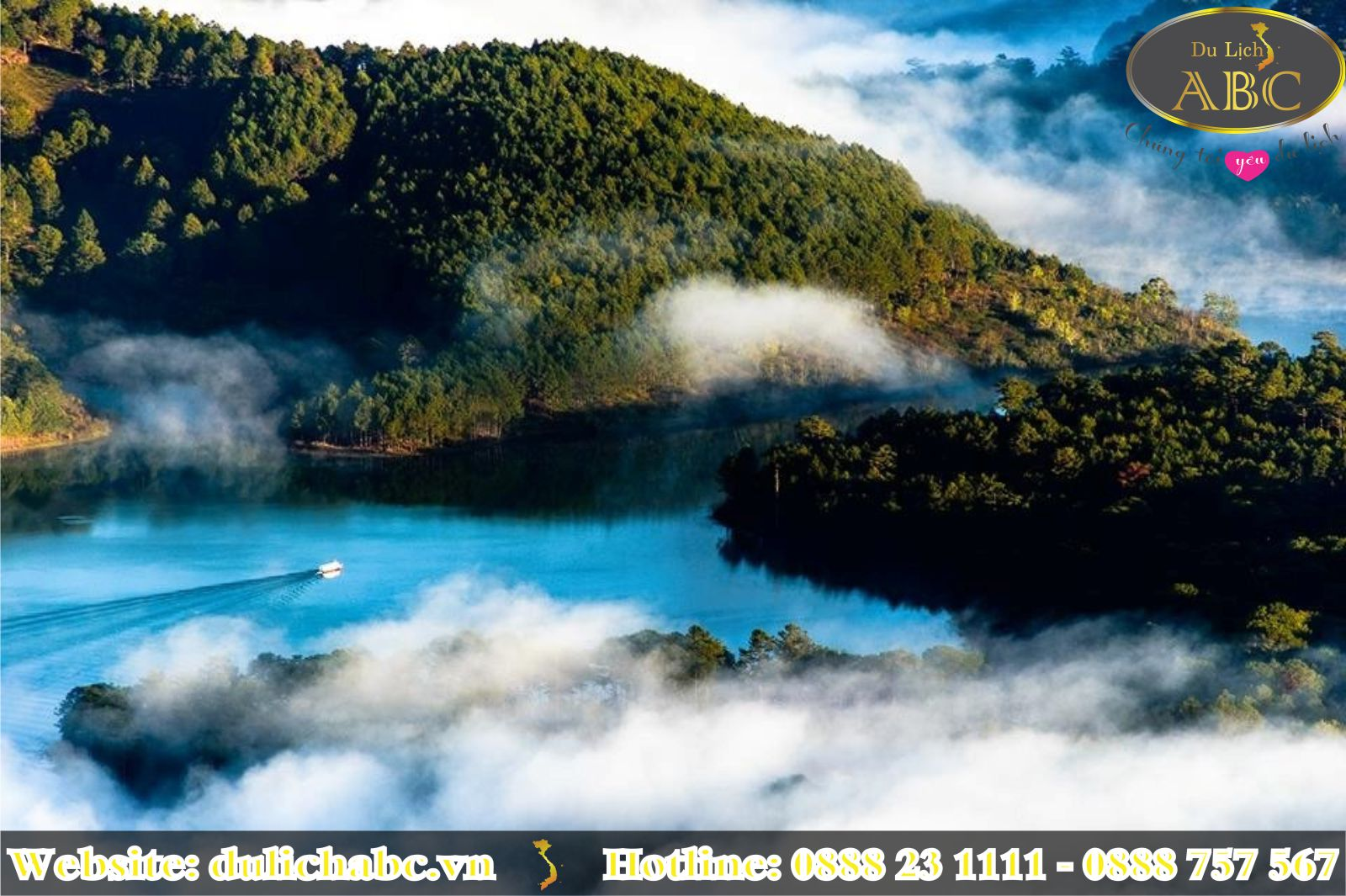 6 Hồ Nước Đẹp Tuyệt Vời ở Đà Lạt