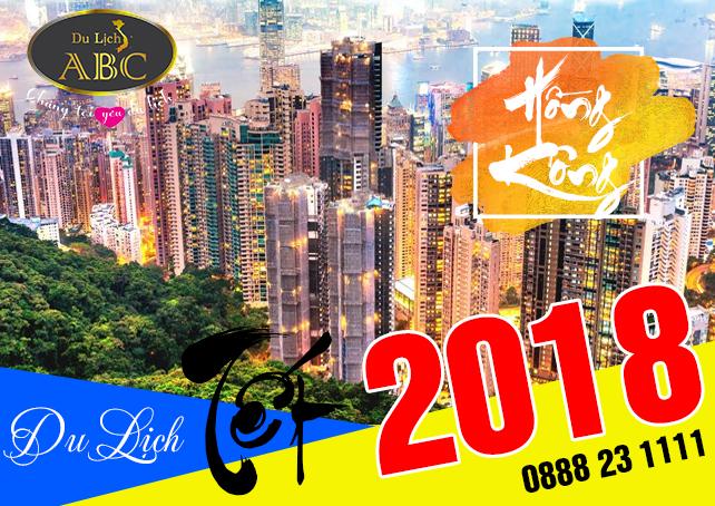 Tour Du lịch Hongkong Tết 2018