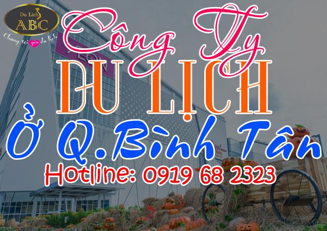 Công ty du lịch tại Quận Bình Tân