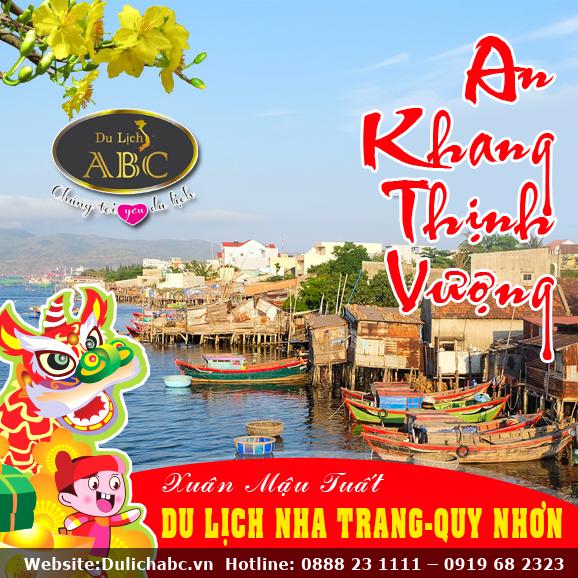 Tour Tết 2018: Nha Trang - Phú Yên - Quy Nhơn 5 Ngày 4 Đêm