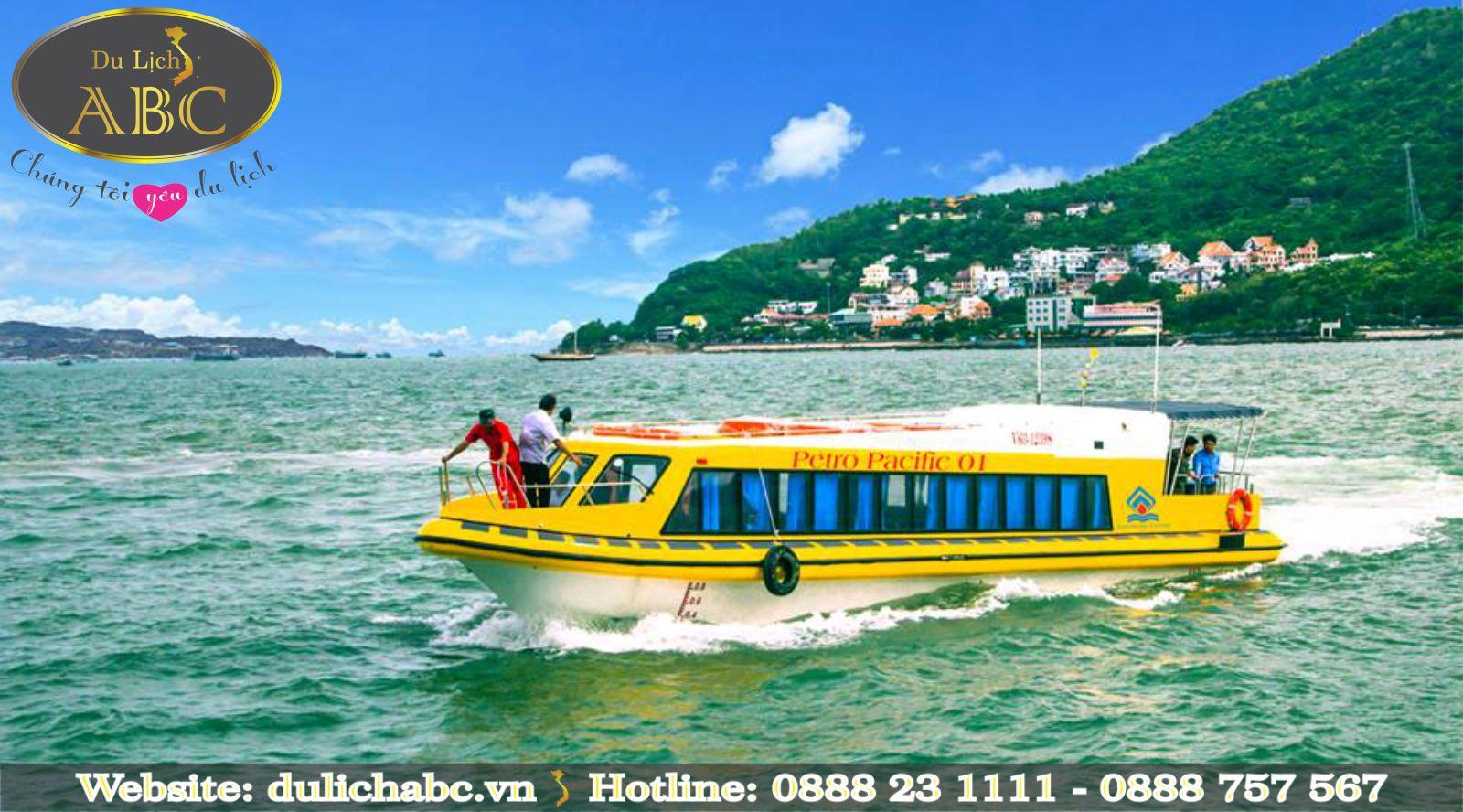 Tàu Cao Tốc Pacific Express Sài Gòn - Vũng Tàu và Ngược Lại