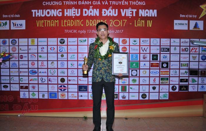 Công ty Du lịch ABC nhận giải thương hiệu dẫn đầu Việt Nam