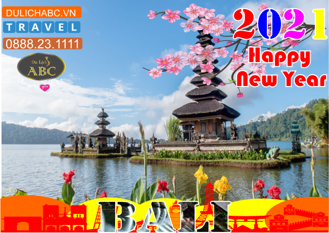 Tour Du lịch Đảo Bali Tết 2021