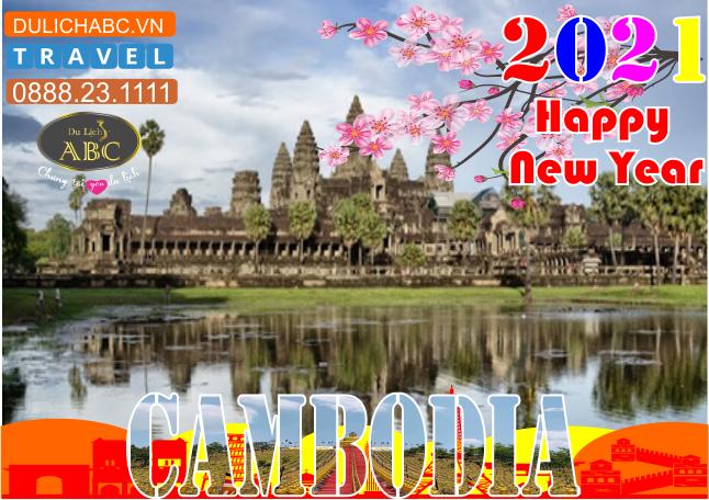 Tour Du lịch Campuchia Tết Nguyên Đán 2021
