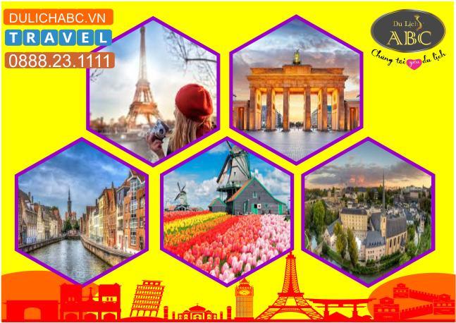 Tour Châu Âu 5 Nước: PHÁP - LUXEMBOURG - BỈ - HÀ LAN - ĐỨC