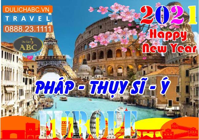 Tour Du lịch Châu Âu Pháp - Thụy Sĩ - Ý Tết 2021