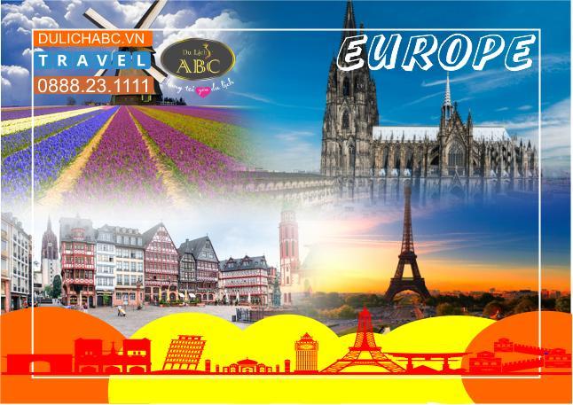 Tour Du lịch Châu Âu 5 Nước 2020: Pháp - Luxembourg - Đức - Bỉ - Hà Lan