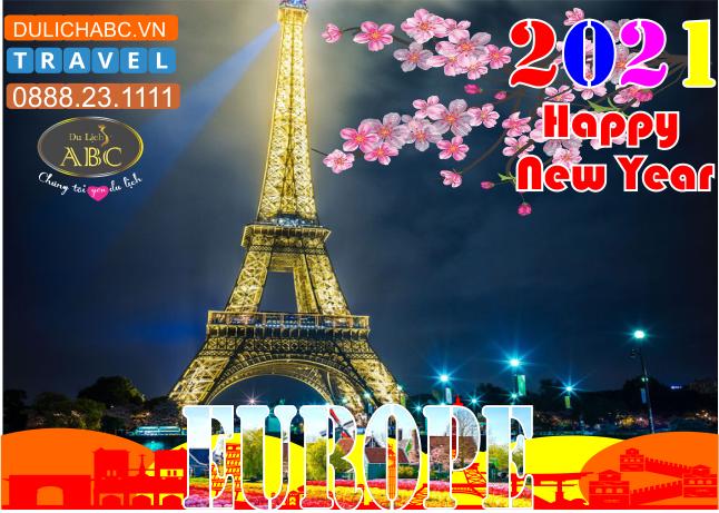 Tour Du lịch Châu Âu Tết Nguyên Đán 2021