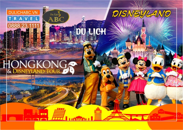 Tour Du lịch HongKong - Disneyland KH Hàng Tuần