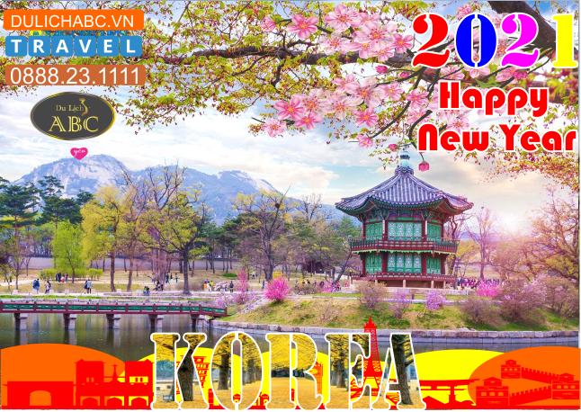 Tour Du lịch Hàn Quốc Tết Nguyên Đán 2021