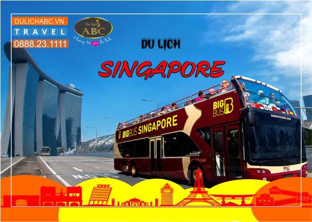 Tour Du lịch Singapore 4 Ngày 3 Đêm Khởi Hành Hàng Tuần