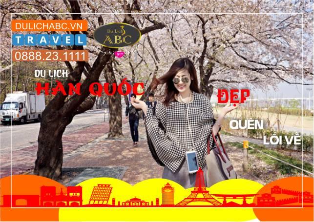 Du lịch Hàn Quốc 4 Ngày 4 Đêm Giá Rẻ KH Hàng Tuần