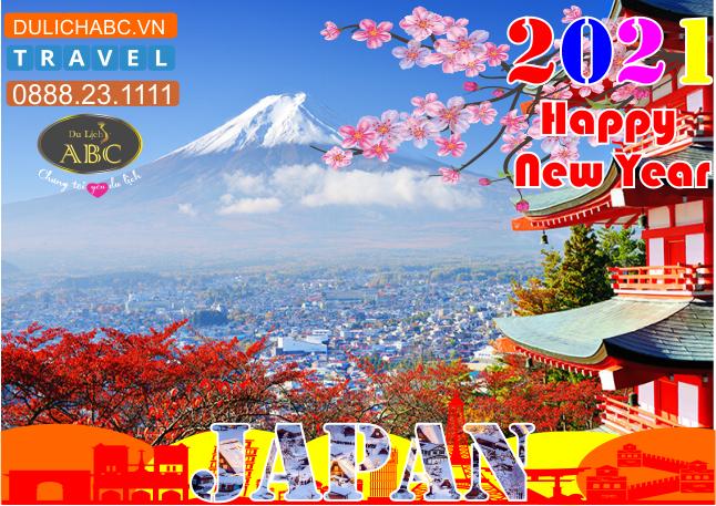 Tour Du lịch Nhật Bản Tết 2021