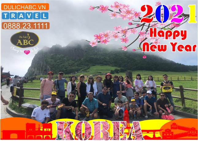 Tour Hàn Quốc Tết Âm lịch 2021 Giá Chỉ Còn: 17.999.000đ
