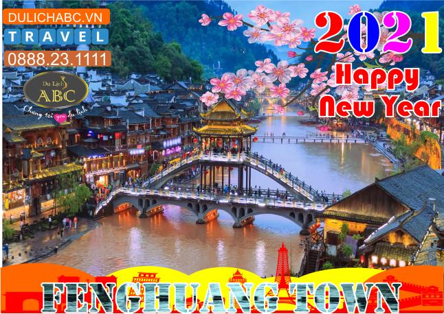 Tour Du lịch Trương Gia Giới - Phượng Hoàng Cổ Trấn Tết 2021