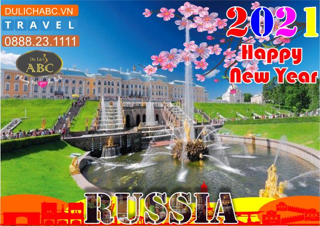 Tour Du lịch Nga Cao Cấp Tết 2021
