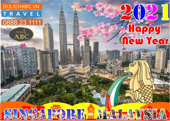 Tour Du lịch Singapore - Malaysia Tết 2021