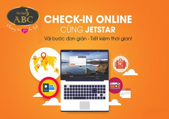 Quy định làm thủ tục trực tuyến đối của Jetstar